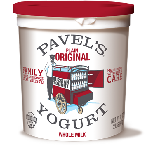 Pavel's Russian Yogurt in a container