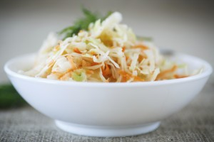 Spicy Asian Peanut Slaw