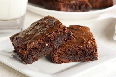 Decadent Yogurt Brownies