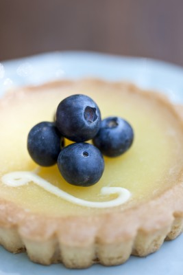 Blueberry Lemon Tartlets