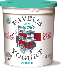 plain organic lowfat yogurt