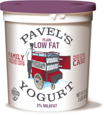 plain lowfat yogurt